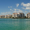 Fisher Island view from South Pointe, Miami Beach