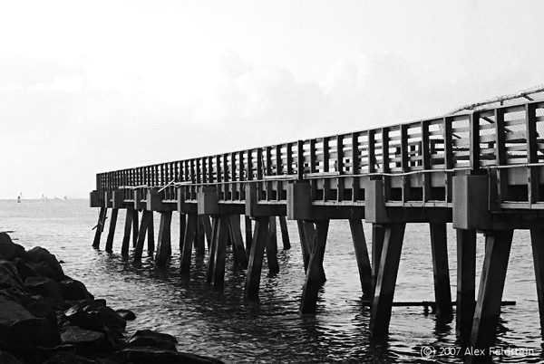 South Pointe old pier (since gone and replaced) - Miami Beach