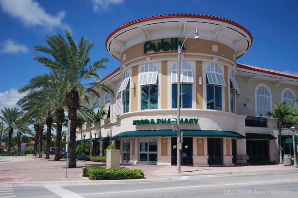 Publix supermarket on Harding Ave., Surfside, FL