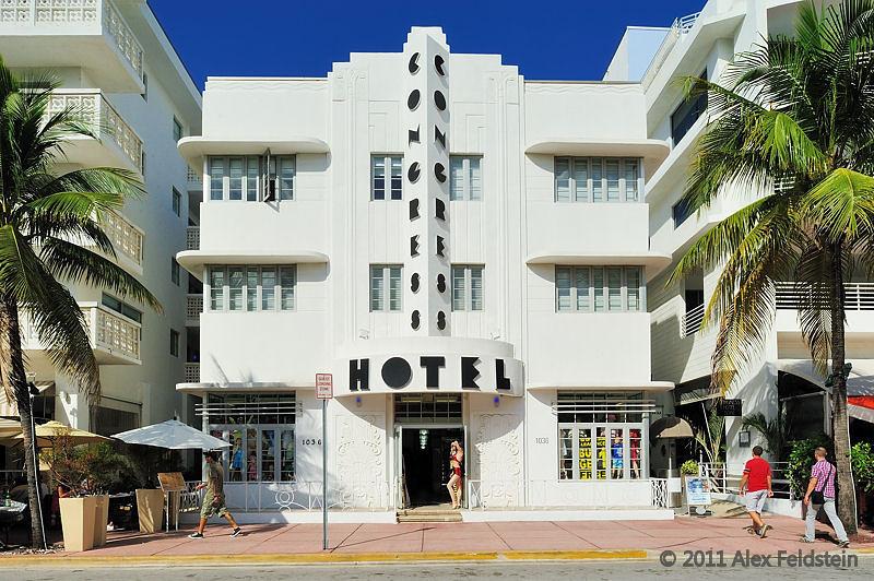 The Congress Hotel on Ocean Drive - SoBe