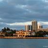 Golden hour in Bal Harbor waterfront