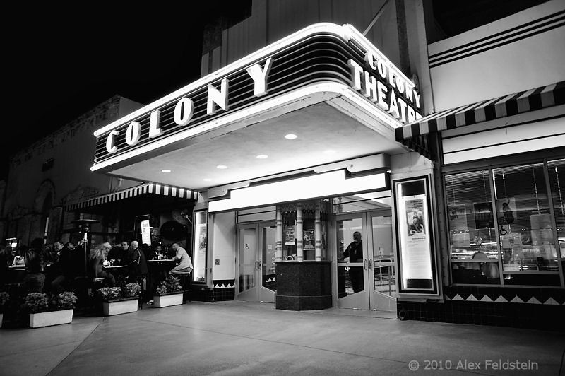 Colony Theatre  on Lincoln Rd.