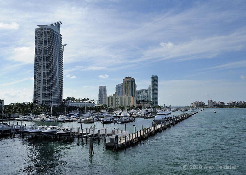 Miami Beach Marina - early morning