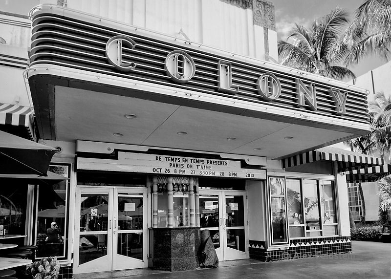 Colony Theater on Lincoln Rd.