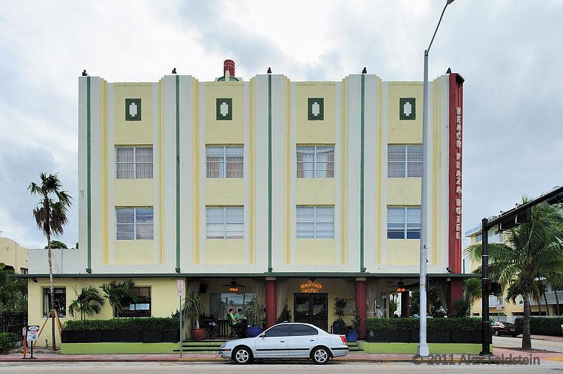 Beach Plaza Hotel in South Beach