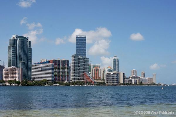 Miami - view from Virginia Key