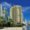 Brickell area by the bay