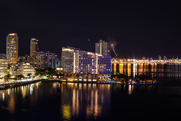 Hunting lightning, Miami style