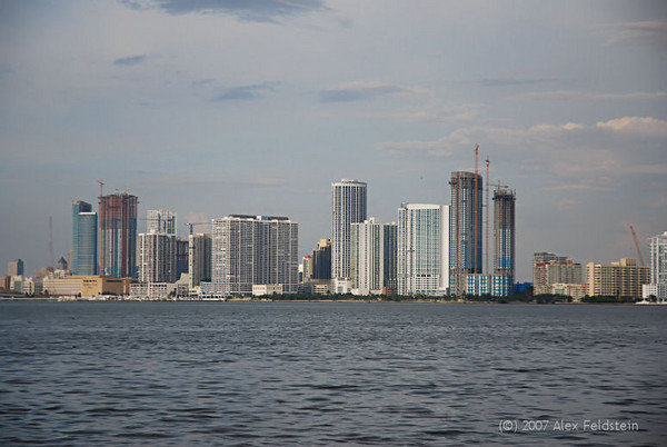 Downtown Miami - view from Julia Tuttle cawseway