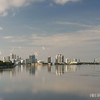 View of Miami Beach from the Julia Tuttle Causeway