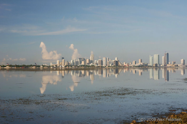 View of Miami's Downtown from the Julia Tuttle Causeway