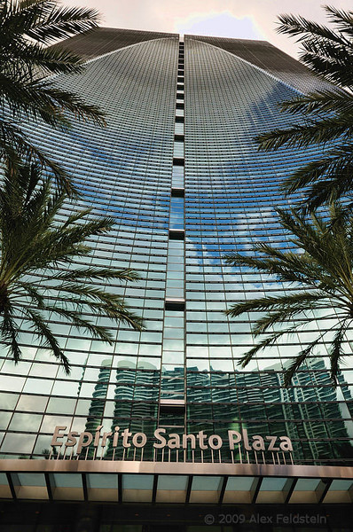 Espirito Santo building on Brickell Ave.