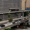 Fake tilt-shift effect<br /> Downtown Miami