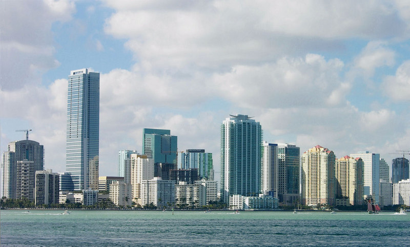 View of Brickell Ave.