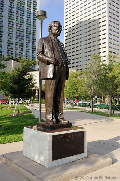 Claude Pepper<br /> Downtown Miami