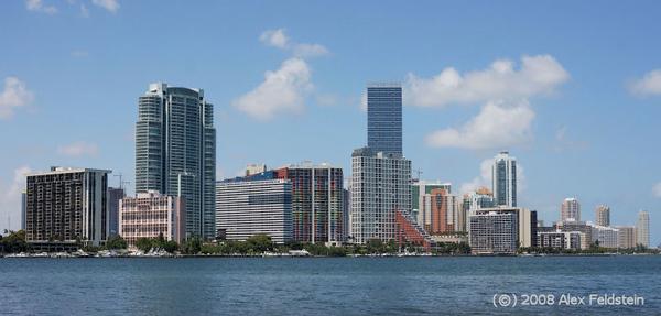 Miami from Virginia Key