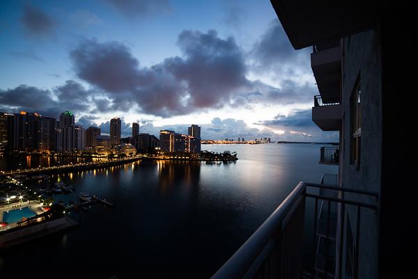 Sunrises on the balcony are fantastic