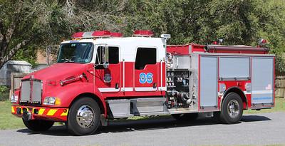 Engine 86.  2004 Kenworth / Pierce   1250 / 1000