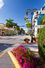 The Fifth Ave street in Naples, Florida, USA.