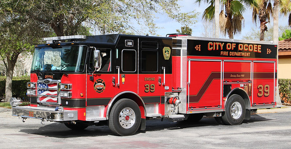 Engine 39.  2019 Pierce Enforcer PUC.  1500 / 1000 / 30F