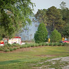04/01/06 Orange County Fire Rescue at forest fire just outside Disney, Photo taken from the 429 just N of 192. East side of Expressway.