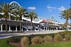 The Convention Center buildings in Orlando, Florida, USA.