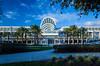 The Orlando Convention Center buildings in Orlando, Florida, USA.