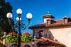 The Italy Pavilion at Epcot Center, Walt Disney World, Orlando, Florida, USA.