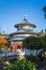 The China Pavilion at Epcot Center, Walt Disney World, Orlando, Florida, USA.