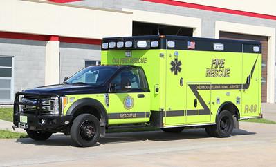 Rescue 88.  2018 Ford F-550 / Wheeled Coach