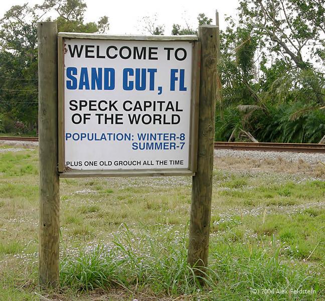 Sand Cut, near Lake Okechobee