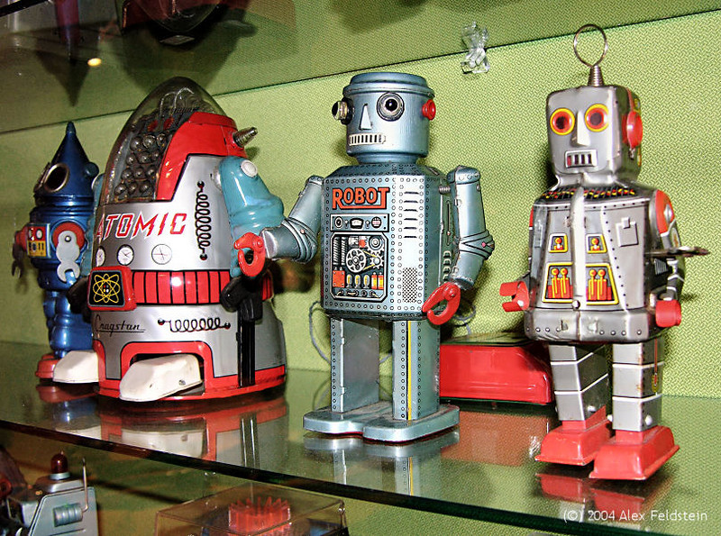 Robot toy collection - EPCOT