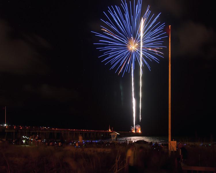 Pier Park Fireworks