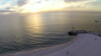 Phantom Drone GoPro T.I. Beach John's Pass 13-11-10