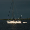 Approaching storm at Cabbage Key