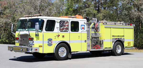Engine 21.  2004 E-One Cyclone.  1750 / 500