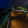 Nighttime walkway