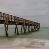 Pier and waves
