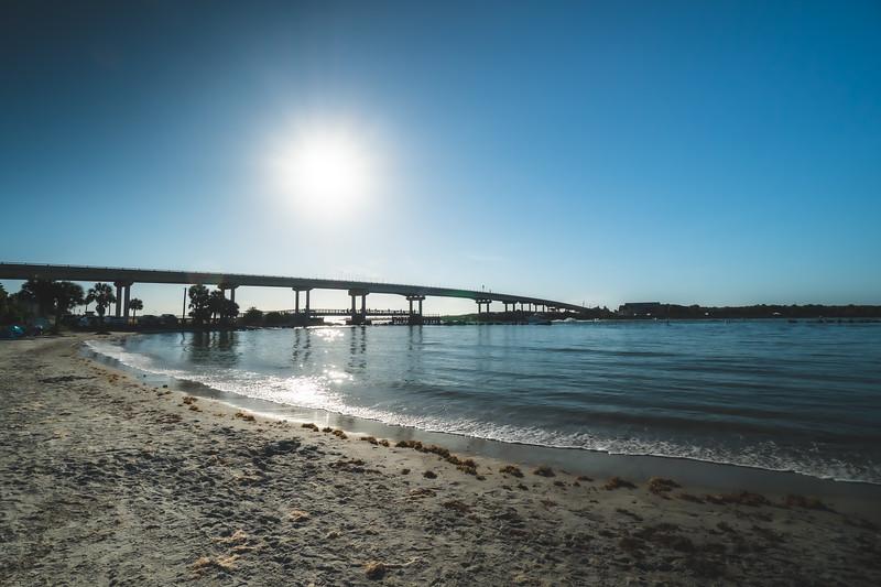 Sebastian Inlet State Park in Melbourne Beach Florida