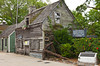 The oldest wooden schoolhouse in the USA in the historic district of St. Augustine, Florida, USA.