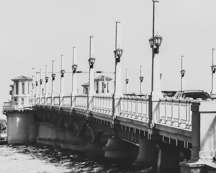 Bridge of Lions in St. Augustine Florida