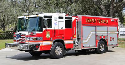 Engine 1.  2009 Pierce Quantum.  1500 / 500 / 30F