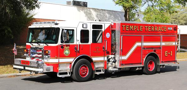 Engine 1.  2019 Pierce Enforcer PUC.  1500 / 750 / 30F