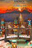 A Bacardi Rum mural at the Holiday Isle Resort, Islamorada, Florida Keys, Florida, USA.