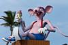 The Mouse mascot at the Holiday Isle Resort on Islamorada, Florida, USA.
