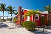 The Castaways Resort cottages on Captiva Island, Florida, USA.
