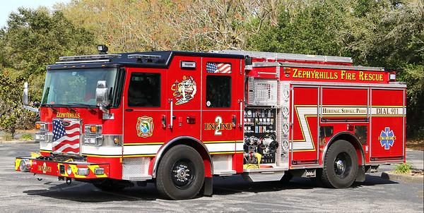 Engine 2.  2019 Pierce Saber.  1250 / 750 / 40F