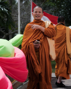 Buddhist Monk-Asian Culture Festival