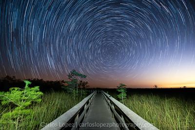 Pa-Hay-Okee Star Trails