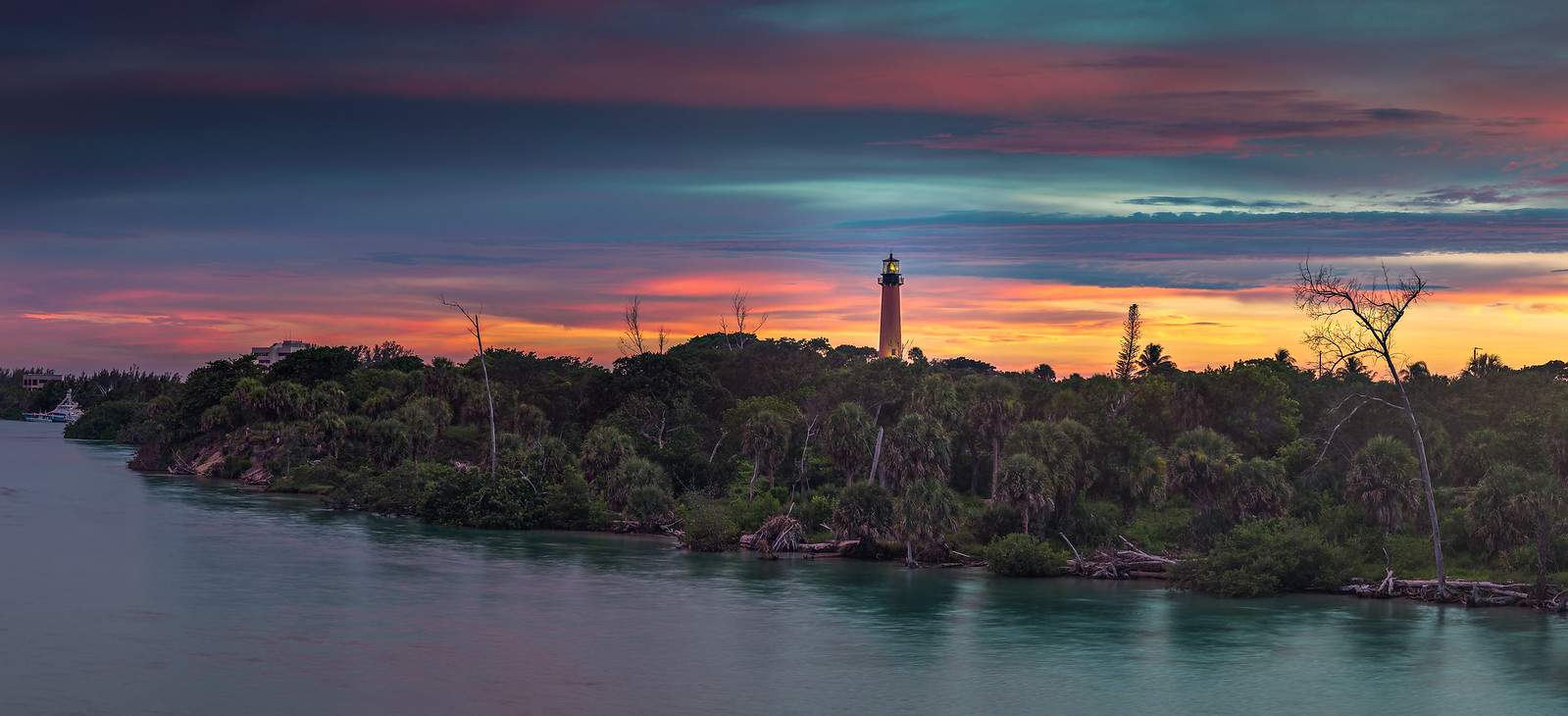 Jupiter Lighthouse at Sunset